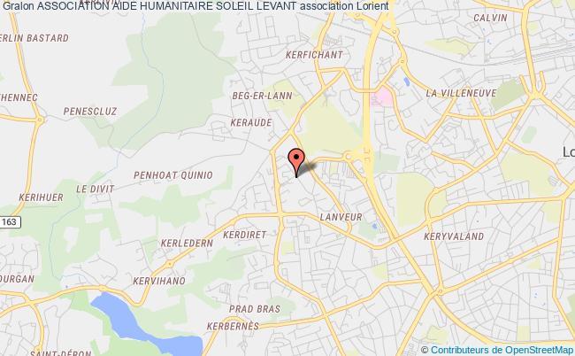 plan association Association Aide Humanitaire Soleil Levant