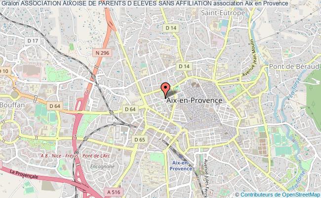 plan association Association Aixoise De Parents D Eleves Sans Affiliation