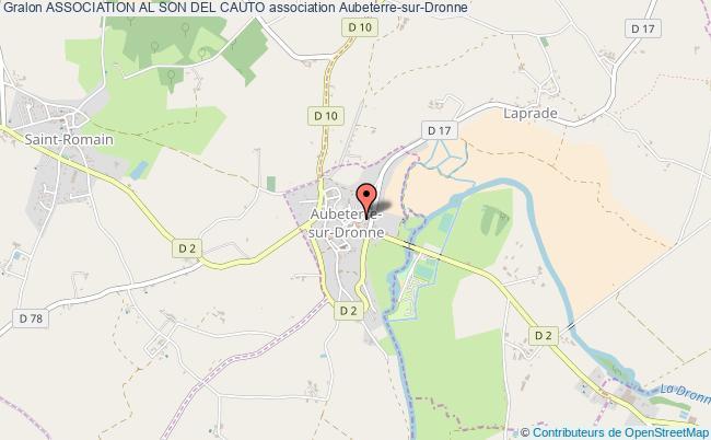 plan association Association Al Son Del Cauto Aubeterre-sur-Dronne