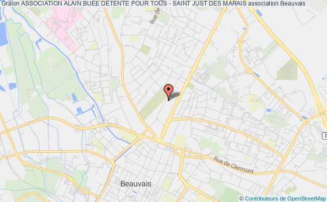plan association Association Alain BuÉe DÉtente Pour Tous - Saint Just Des Marais Beauvais