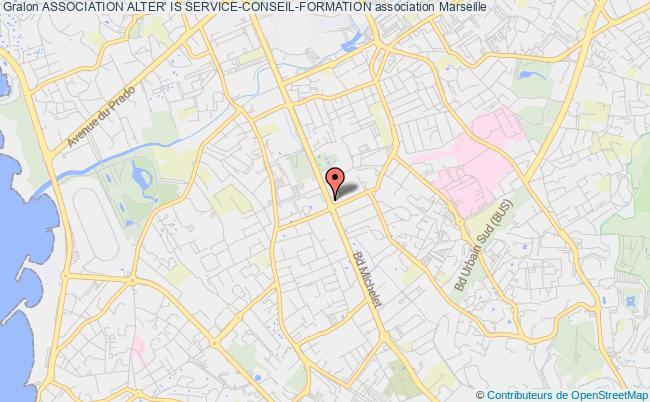 plan association Association Alter' Is Service-conseil-formation Marseille