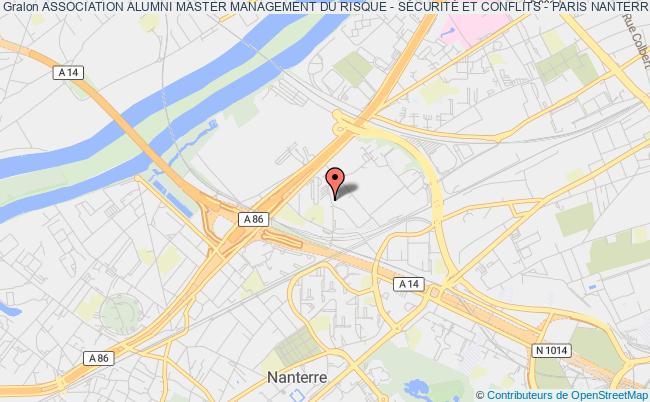 plan association Association Alumni Master Management Du Risque - SÉcuritÉ Et Conflits - Paris Nanterre