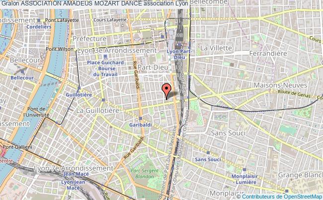 plan association Association Amadeus Mozart Dance