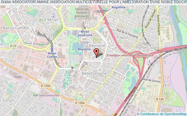 plan association Association Amane (association Multiculturelle Pour L'amelioration D'une Noble Education)