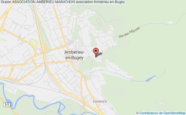 plan association Association Amberieu Marathon Ambérieu-en-Bugey
