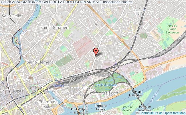 plan association Association Amicale De La Protection Animale