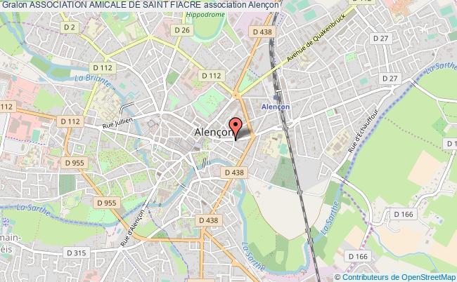 plan association Association Amicale De Saint Fiacre