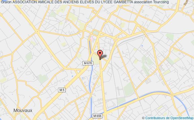 plan association Association Amicale Des Anciens Eleves Du Lycee Gambetta