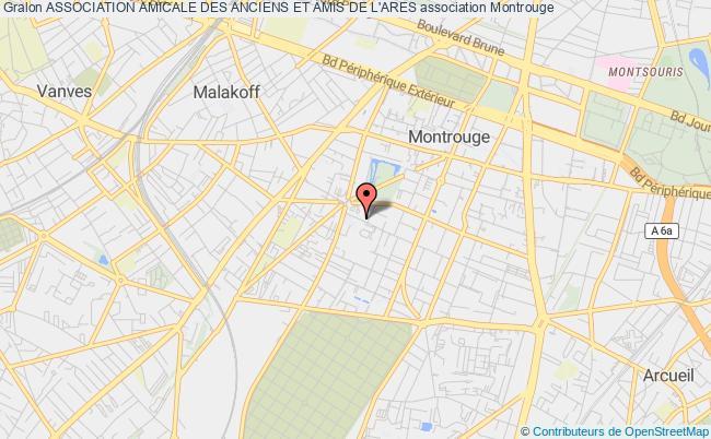 plan association Association Amicale Des Anciens Et Amis De L'ares Montrouge