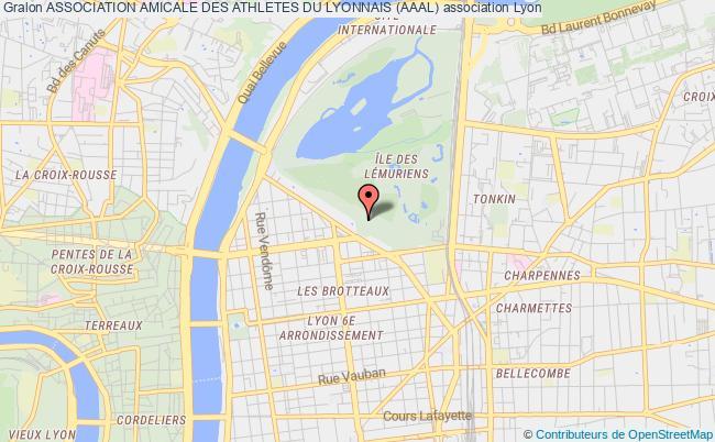 plan association Association Amicale Des Athletes Du Lyonnais (aaal)