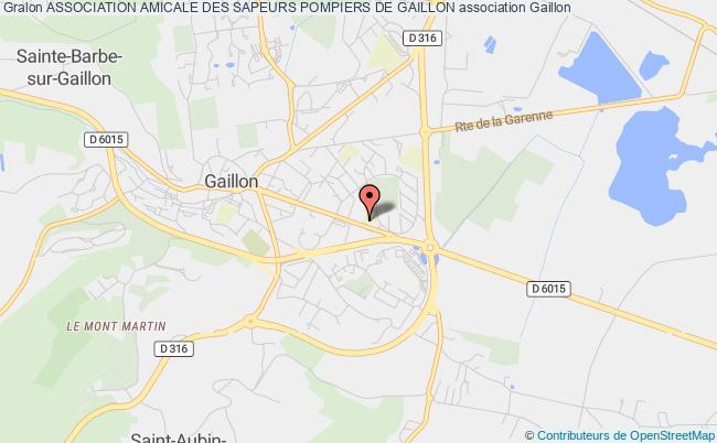 plan association Association Amicale Des Sapeurs Pompiers De Gaillon Gaillon