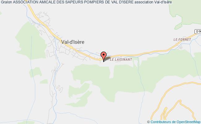 plan association Association Amicale Des Sapeurs Pompiers De Val D'isere Val-d'Isère