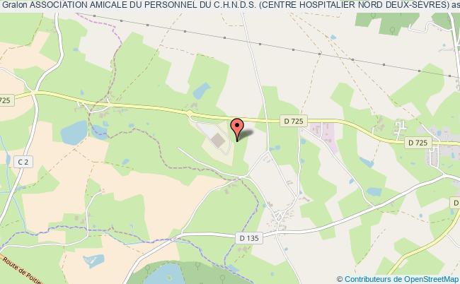 plan association Association Amicale Du Personnel Du C.h.n.d.s. (centre Hospitalier Nord Deux-sÈvres)