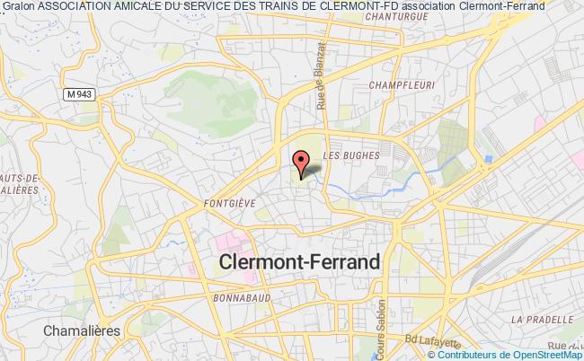 plan association Association Amicale Du Service Des Trains De Clermont-fd