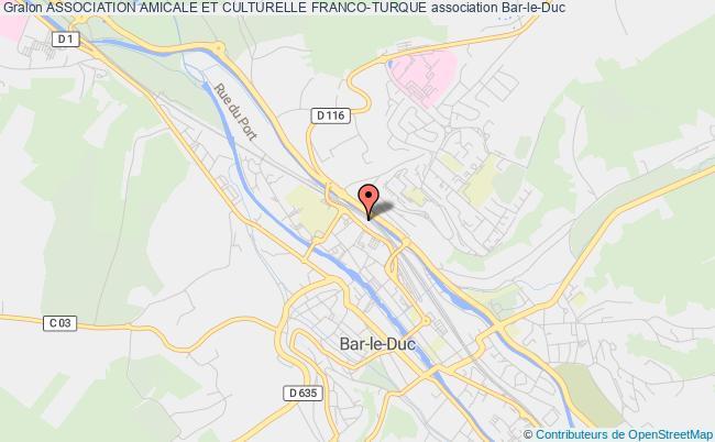 plan association Association Amicale Et Culturelle Franco-turque