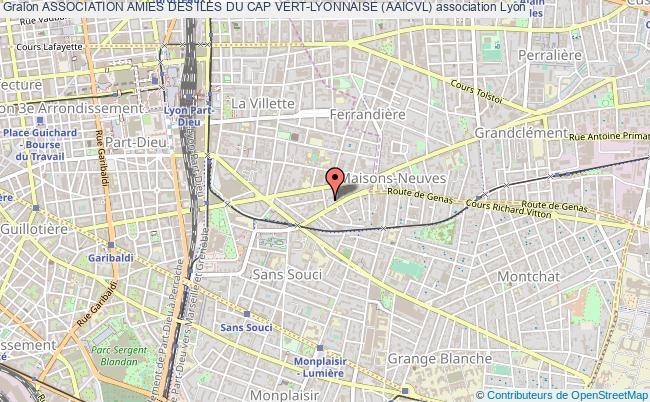 plan association Association Amies Des Iles Du Cap Vert-lyonnaise (aaicvl)