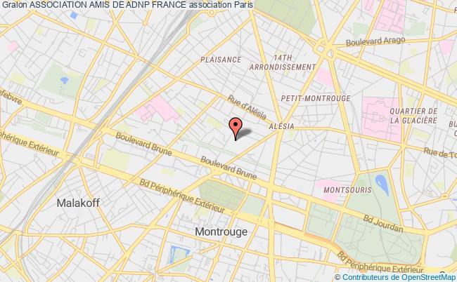 plan association Association Amis De Adnp France Paris
