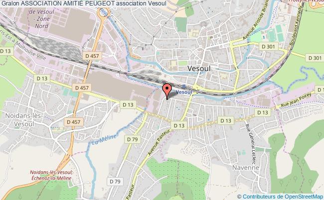 plan association Association AmitiÉ Peugeot