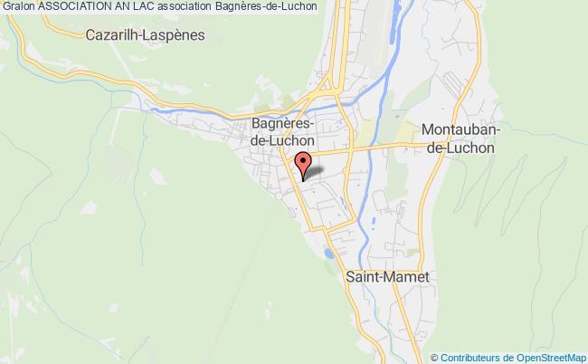 plan association Association An Lac Bagnères-de-Luchon