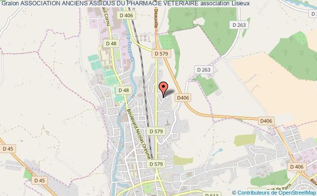 plan association Association Anciens Assidus Du Pharmacie Veteriaire