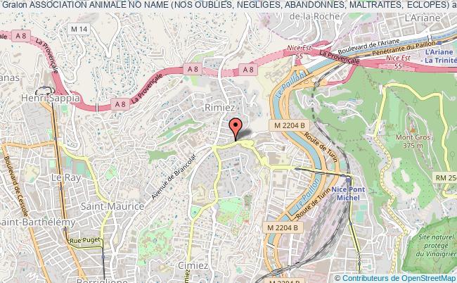 plan association Association Animale No Name (nos Oublies, Negliges, Abandonnes, Maltraites, Eclopes)