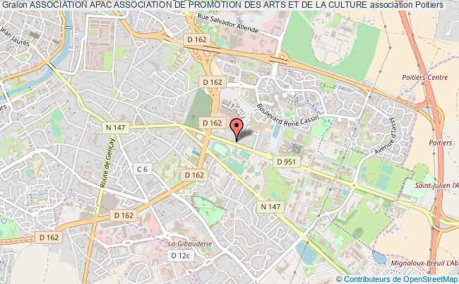 plan association Association Apac Association De Promotion Des Arts Et De La Culture Poitiers