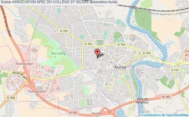 plan association Association Apel Du College St Gildas