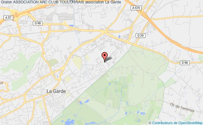 plan association Association Arc Club Toulonnais