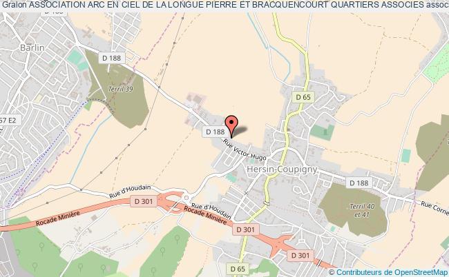 plan association Association Arc En Ciel De La Longue Pierre Et Bracquencourt Quartiers Associes