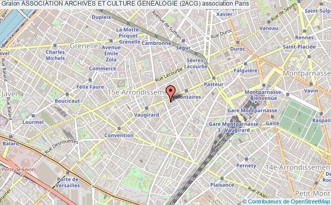 plan association Association Archives Et Culture GÉnÉalogie (2acg)