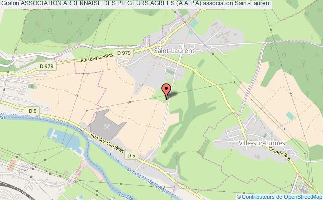 plan association Association Ardennaise Des Piegeurs Agrees (a.a.p.a)