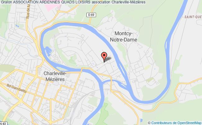 plan association Association Ardennes Quads Loisirs
