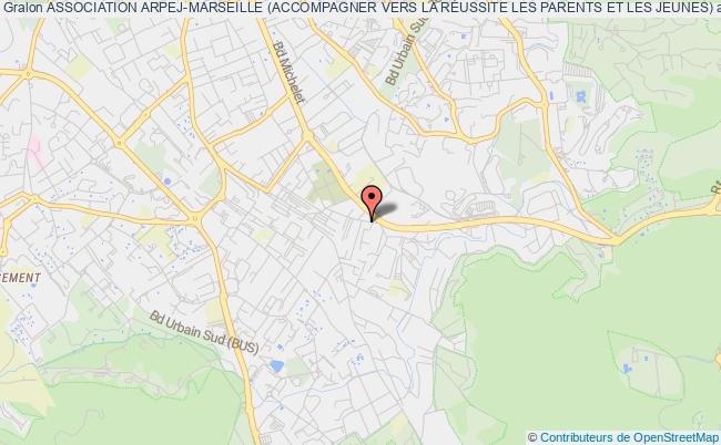 plan association Association Arpej-marseille (accompagner Vers La RÉussite Les Parents Et Les Jeunes) Marseille 9