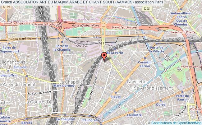 plan association Association Art Du MaqÂm Arabe Et Chant Soufi (aamacs)