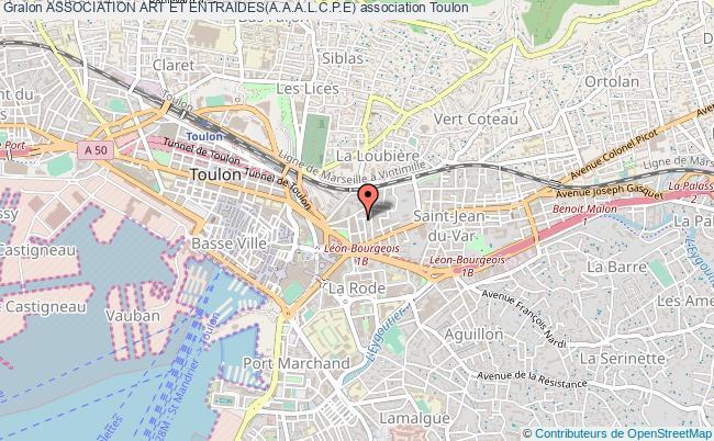 plan association Association Art Et Entraides(a.a.a.l.c.p.e)