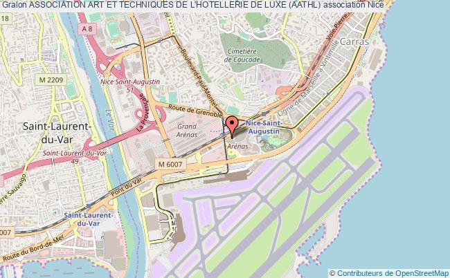 plan association Association Art Et Techniques De L'hotellerie De Luxe (aathl)