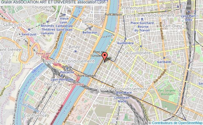 plan association Association Art Et Universite