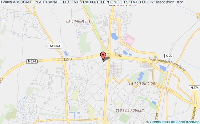 "ASSOCIATION ARTISANALE DES TAXIS RADIO-TELEPHONE DITS ""TAXIS DIJON"""