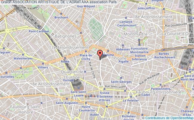 plan association Association Artistique De L'adami Aaa