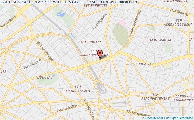 plan association Association Arts Plastiques Ginette Martenot