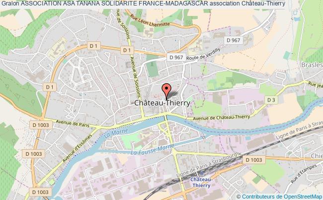 plan association Association Asa Tanana Solidarite France-madagascar