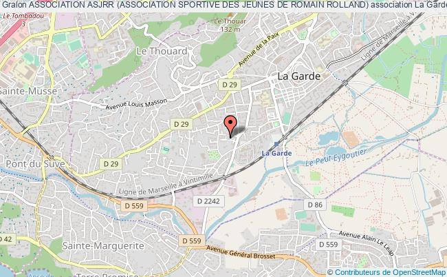 plan association Association Asjrr (association Sportive Des Jeunes De Romain Rolland)