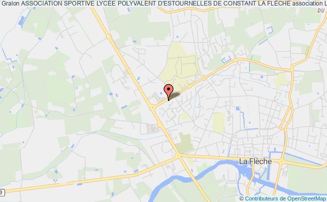 plan association Association Association Sportive Du Lycee Professionnel Bouchevereau De La Fleche