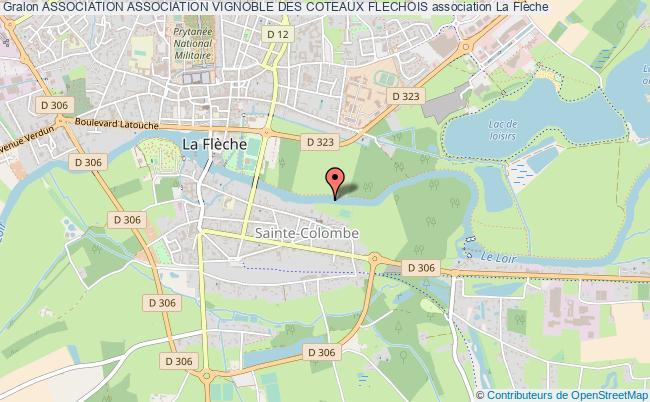 plan association Association Association Vignoble Des Coteaux Flechois