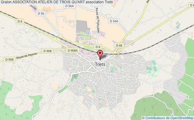 plan association Association Atelier De Trois Qu'art