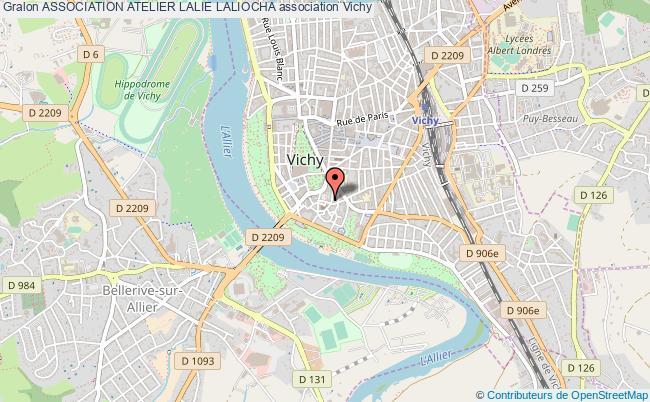 plan association Association Atelier Lalie Laliocha
