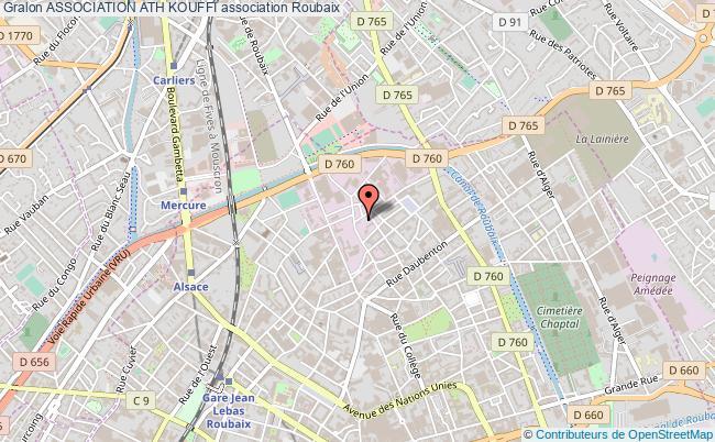 plan association Association Ath Kouffi Roubaix