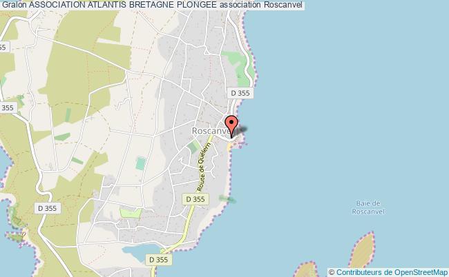 plan association Association Atlantis Bretagne Plongee