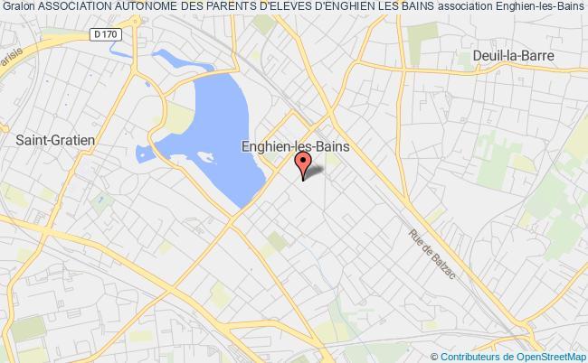 plan association Association Autonome Des Parents D'eleves D'enghien Les Bains
