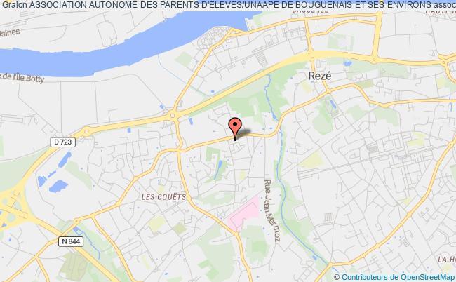 plan association Association Autonome Des Parents D'eleves/unaape De Bouguenais Et Ses Environs